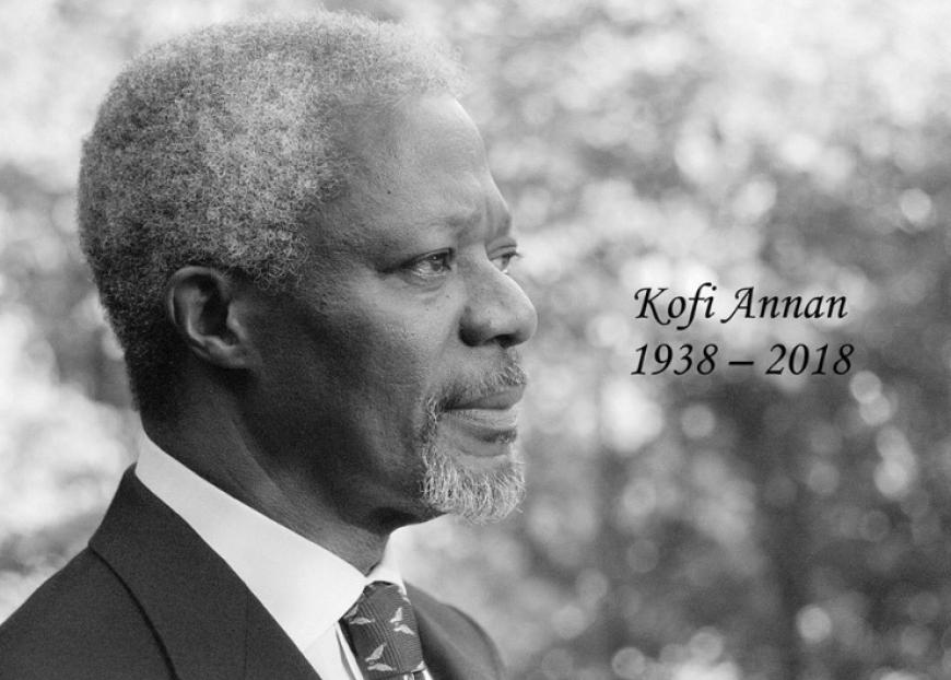 Кофи Аннан много сделал для …