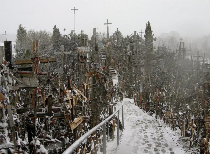 12. Гора крестов, Литва интересное, история, поучительное, факты