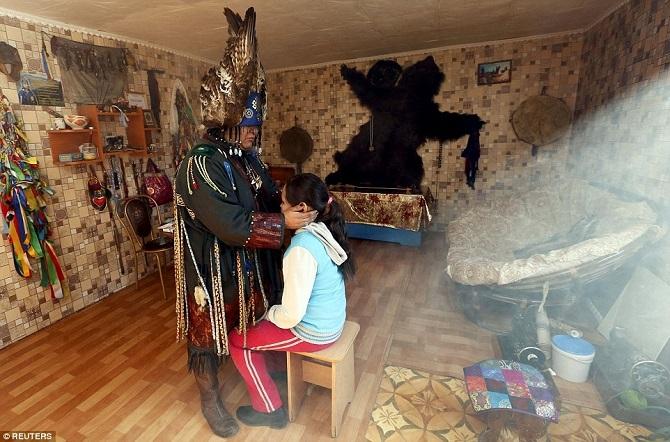 Из жизни тувинских шаманов Сибири