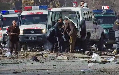 Возле иностранных посольств в Кабуле прогремел взрыв