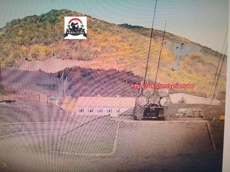Опубликованы кадры уничтожения армянских С-300 с камер наружного наблюдения Новости
