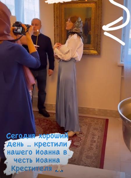 Владимир Пресняков и Наталья Подольская крестили младшего сына Дети,Дети знаменитостей