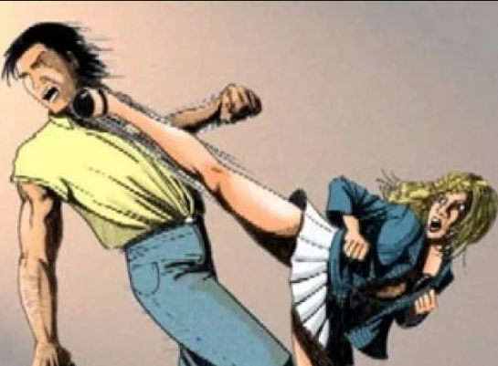 Когда девушка перестаралась с самозащитой… И очень скоро в ней явилась несколько агрессивная внутренняя сила.