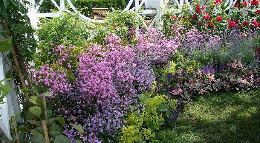 Тренды 2018 года в садовой моде