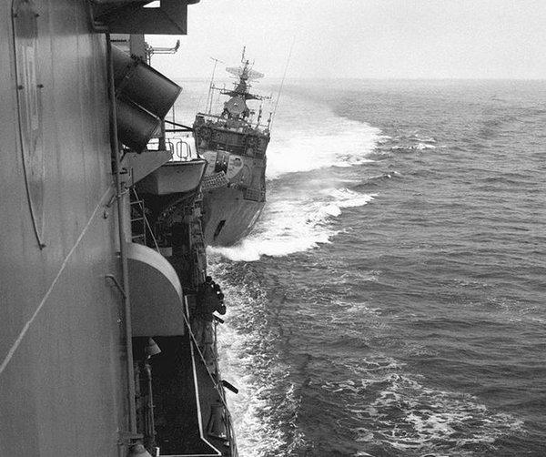 «С русскими что угодно, но только не война…» – иностранцы о бегстве крейсера ВМФ США из Черного моря