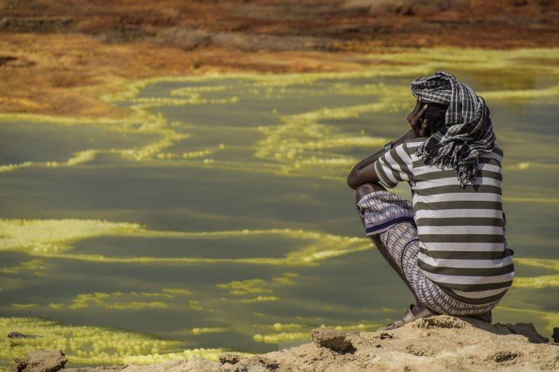 Даллол: самое жаркое обитаемое место на Земле Диалол,экстремальные места мира