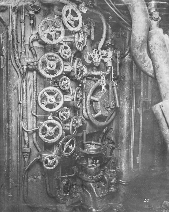 Экскурсия по немецкой подводной лодке времен Первой мировой войны