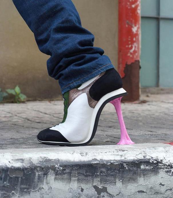 Небычные туфли от Kobi Levi