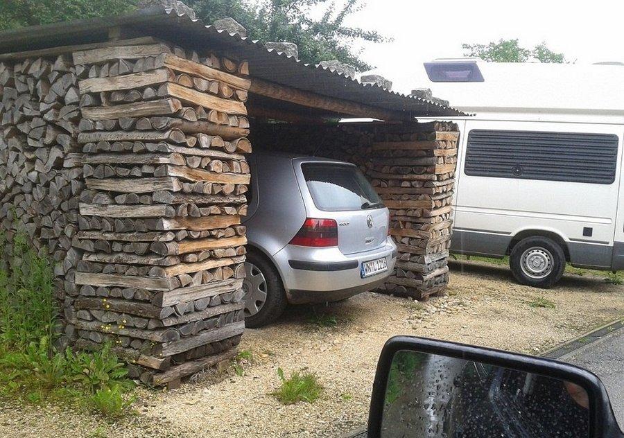 Несколько интересных гаражных идей