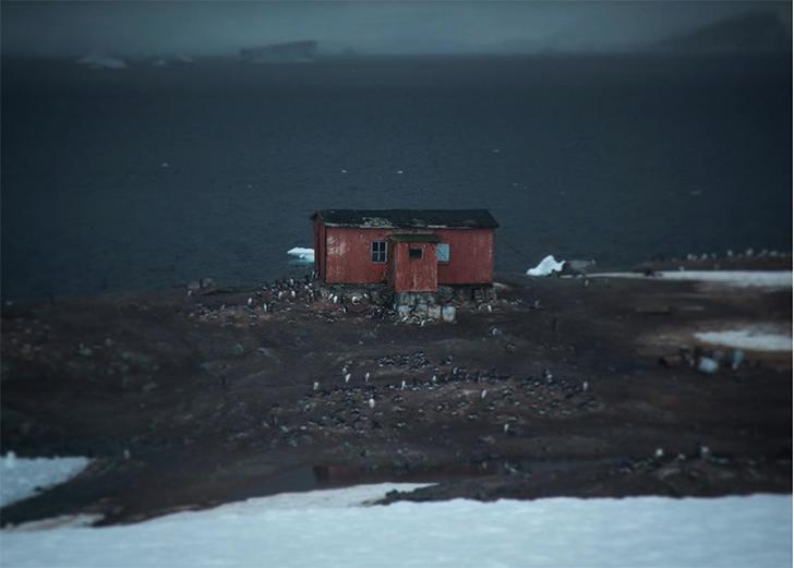 Ледяной материк, каким вы его никогда не видели