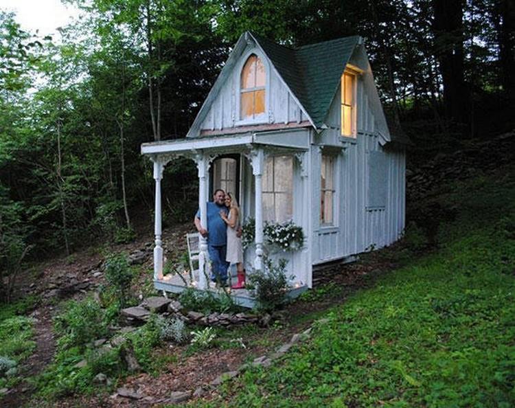 10. Крошечный викторианский домик в пригороде Нью-Йорка. в мире, дом