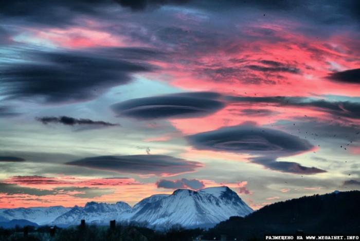 14. Лентикулярные облака Феномены, природа