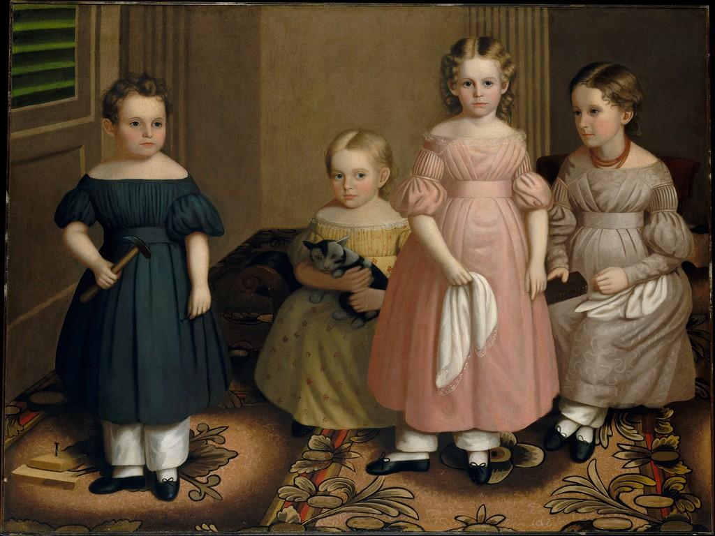 Детская одежда минувших столетий: 65 прелестных нарядов