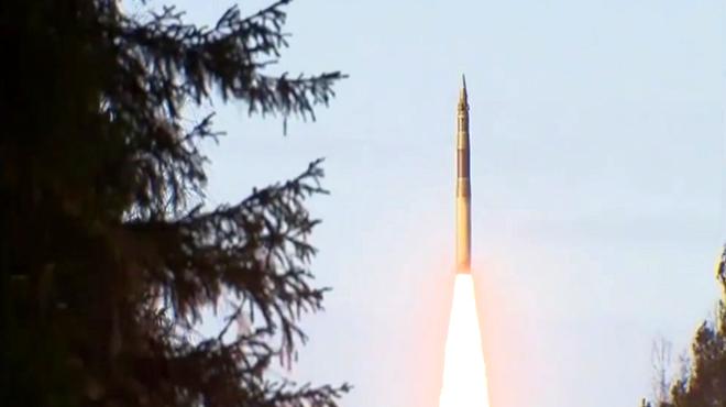 Минобороны запустило межконтинентальную ракету