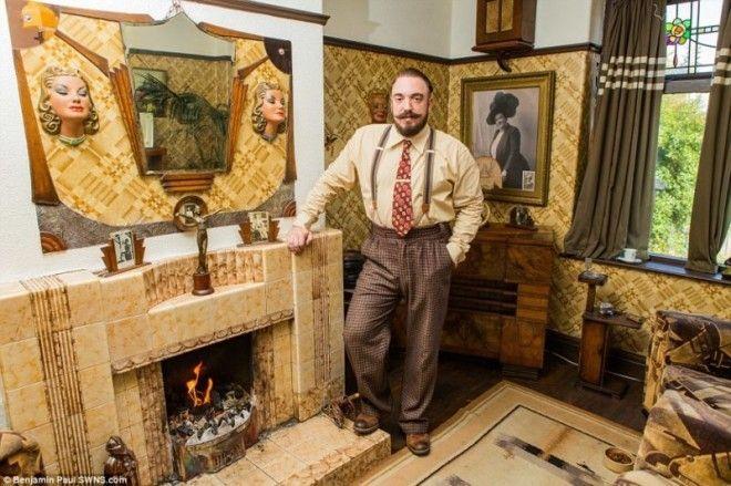 Назад в прошлое: британец трансформировал свой дом в стиле 1930-х годов