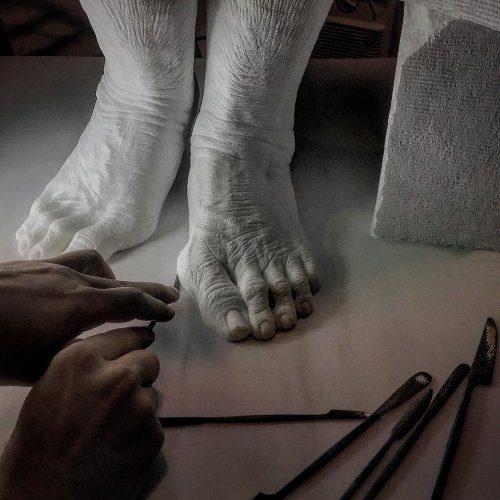 Невероятно реалистичные работы от скульптора-самоучки