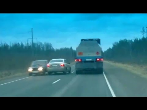 Рисковые люди: как россияне совершают обгоны