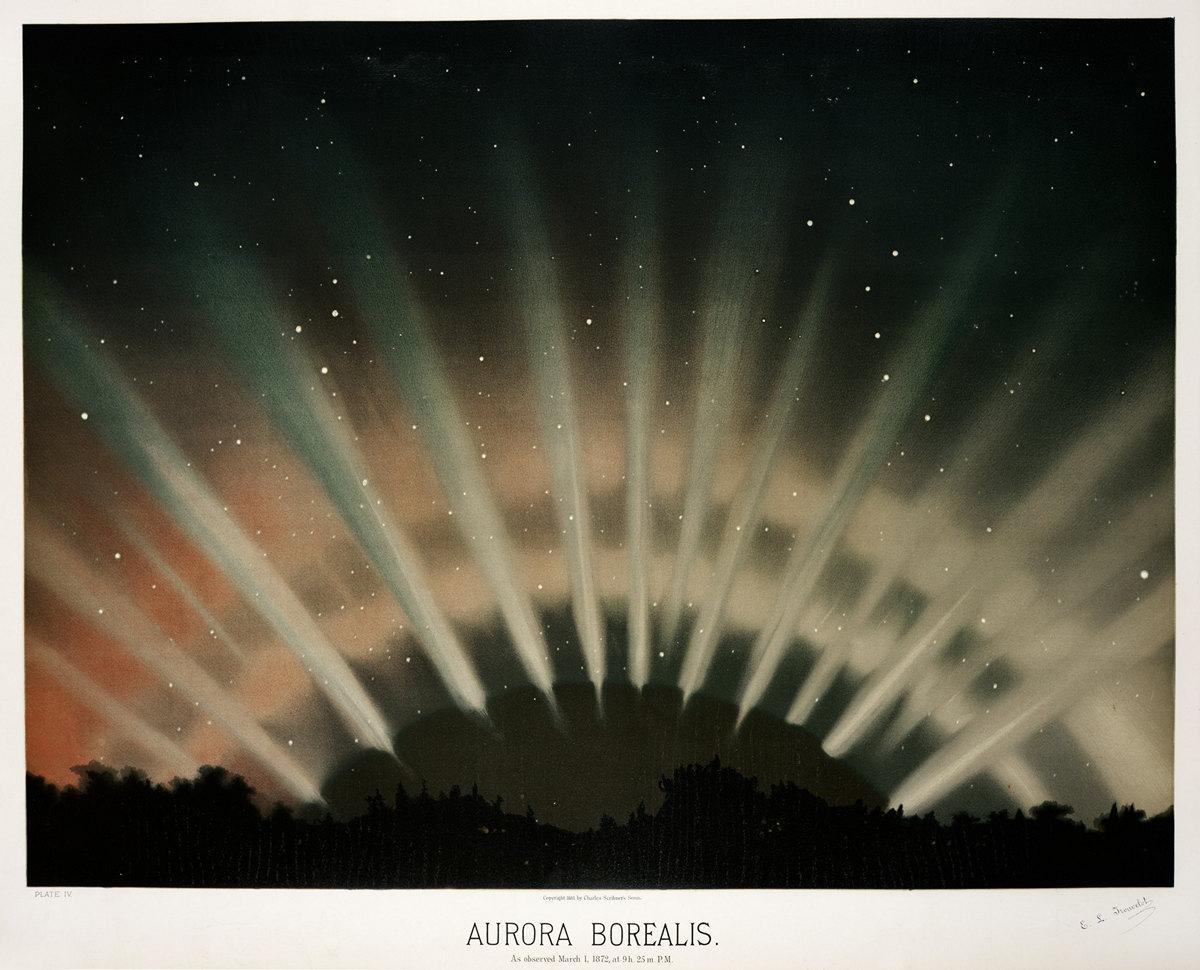 Старинные астрономические рисунки Этьена Трувело 7
