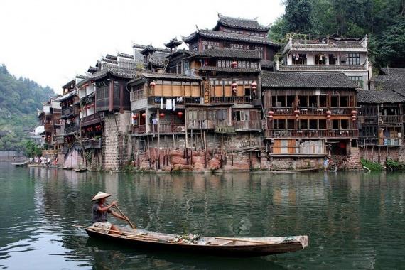Фэнхуан: пожалуй, самый красивый город Китая