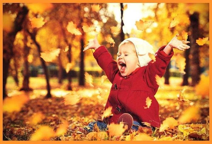 Для самых маленьких. Стихи про осень