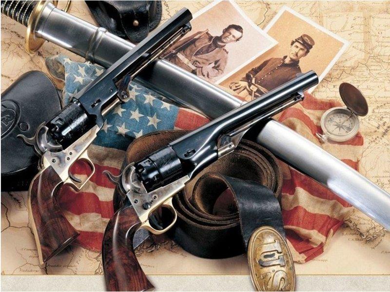 Револьверы времен дикого запада