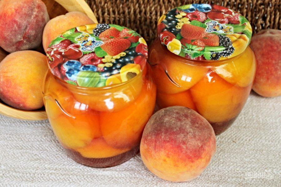 персики на зиму рецепты с фото выложу