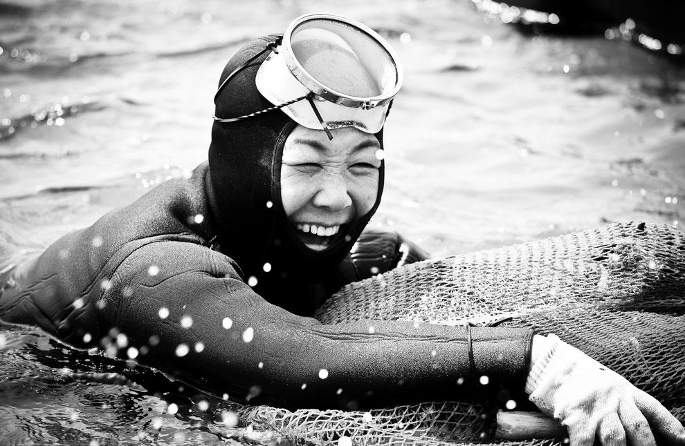 Хэнё — корейские женщины моря. Очень необычно!