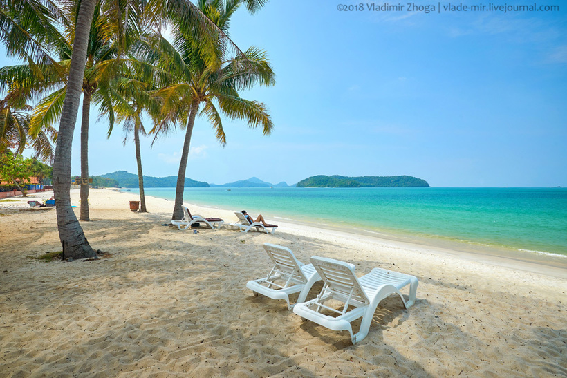 Лангкави — малайзийский остров «Баунти»