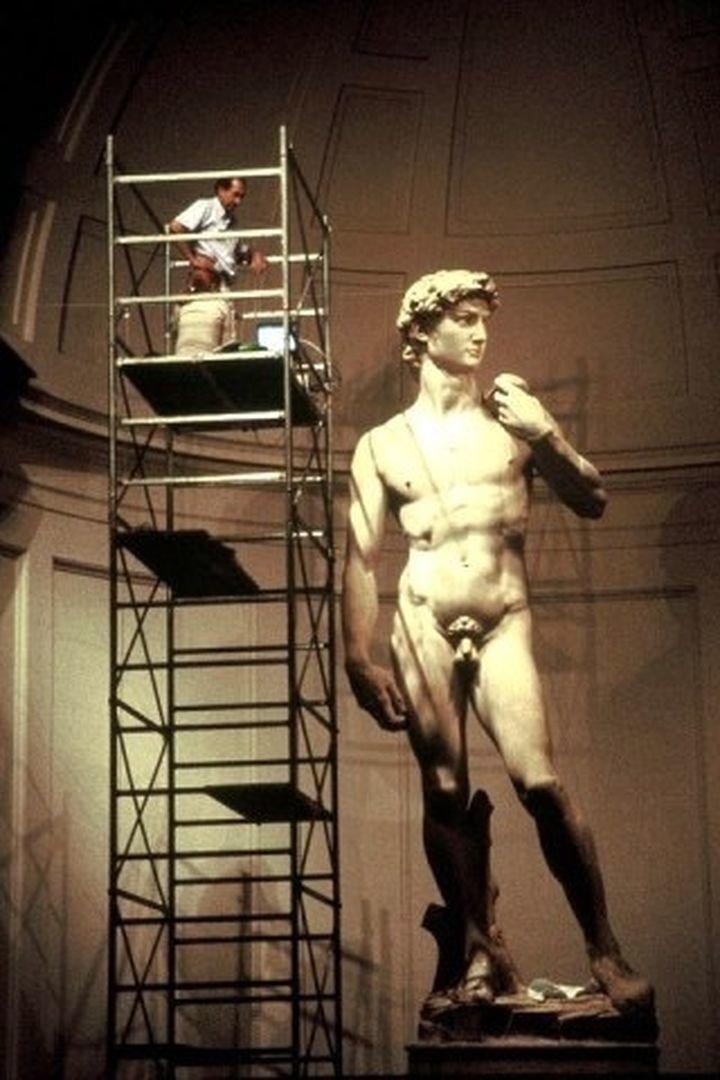 14. Мраморная статуя «Давид» работы Микеланджело в мире, животные, люди, размер, разница, фото