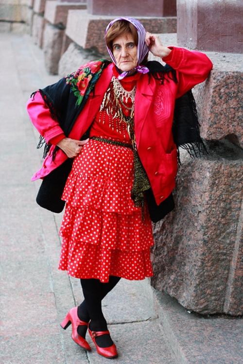 Российские модники преклонного возраста в фотографиях Игоря Гавара