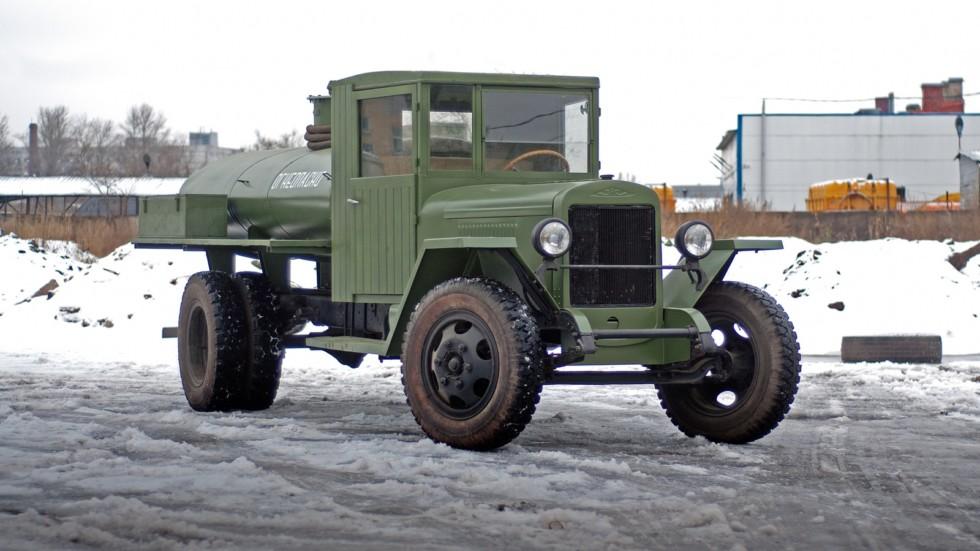 Топливозаправщик ЗиС-5В