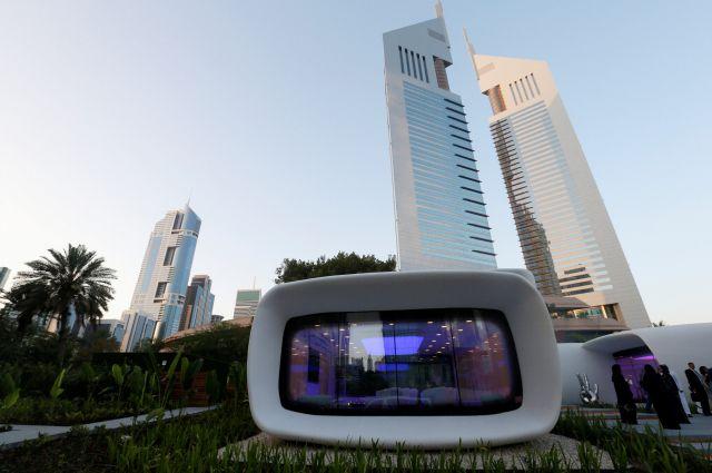 В Дубае открылось первое в мире здание, напечатанное на 3D-принтере