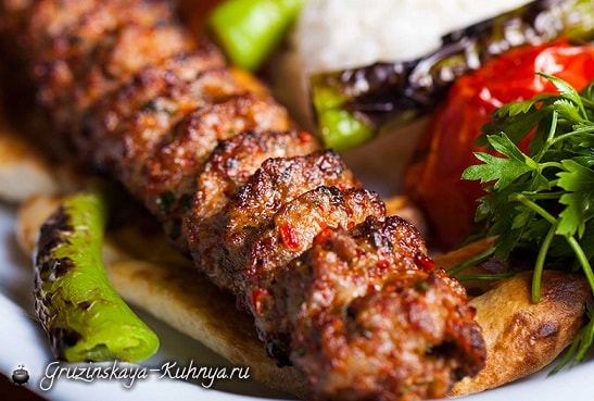 Рецепт кабаби в лаваше по-грузински (3)