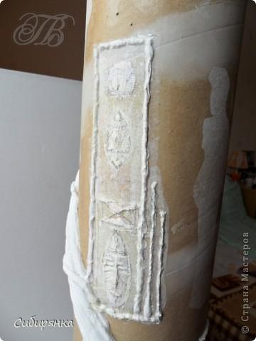 Добрый день, Страна Мастеров!!! Как и обещала, покажу некоторые промежуточные фотографии процесса изготовления напольной вазы с африканскими мотивами. . Фото 11