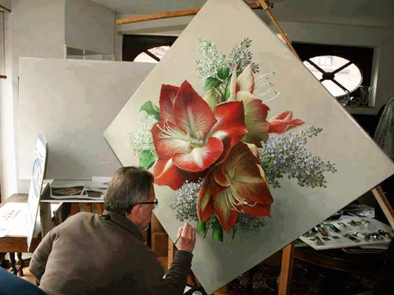 Невероятные цветочные натюрморты