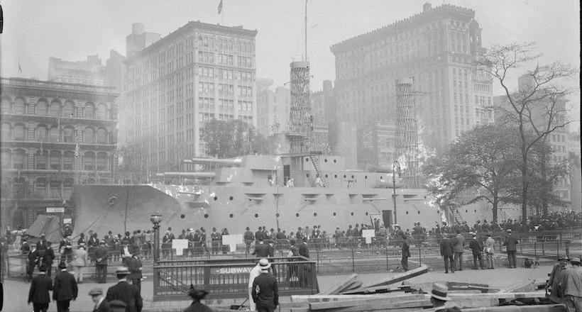 Гениальный способ, которым США решили проблему призыва во флот 100 лет назад