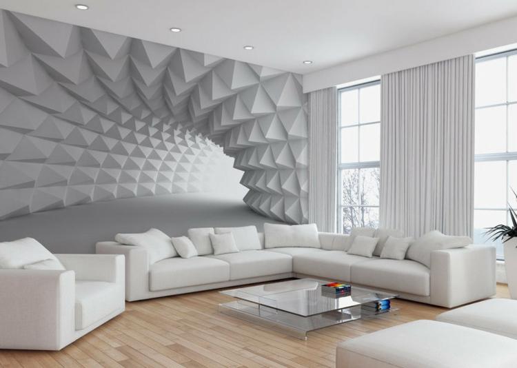 3D объемные фотообои на стену