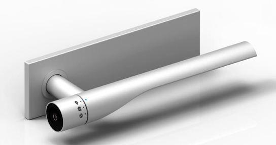 дверная ручка с подсветкой