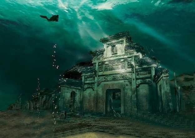 Китайская Атлантида: завораживающие виды китайского Города Лвьа