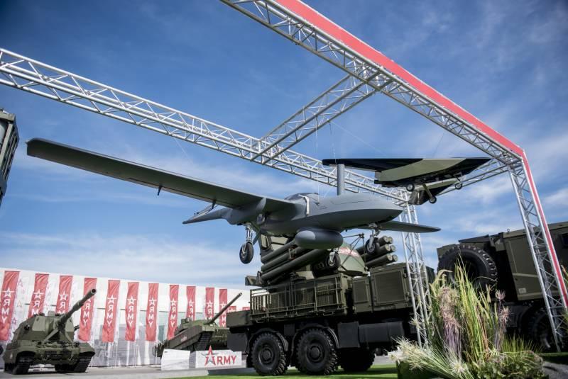 Впервые представлен лётный образец беспилотного комплекса «Корсар» Авиация