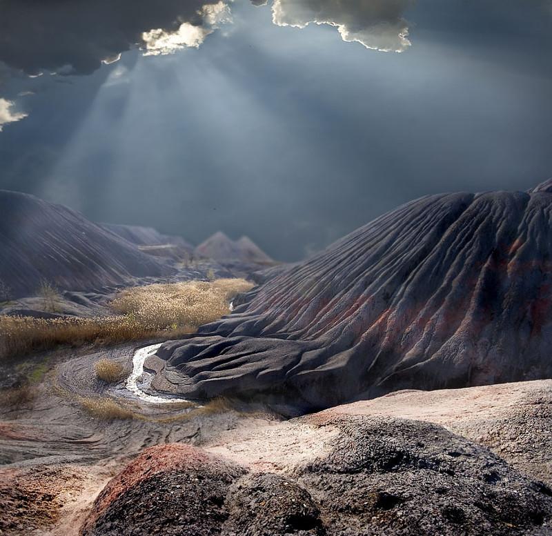 Донецкие пейзажи: неужели это на нашей планете? Фотограф Евгений Балюбах из Горловки.