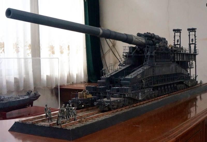 Самая мощная пушка Гитлера. Сверхтяжёлое орудие «Дора» оружие