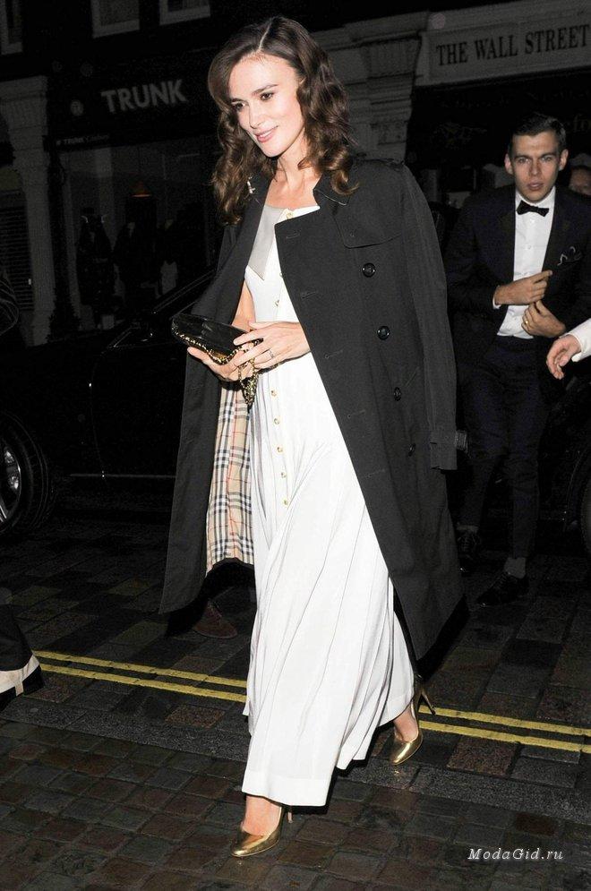 Уроки стиля от знаменитостей: мода для беременных в образах Киры Найтли