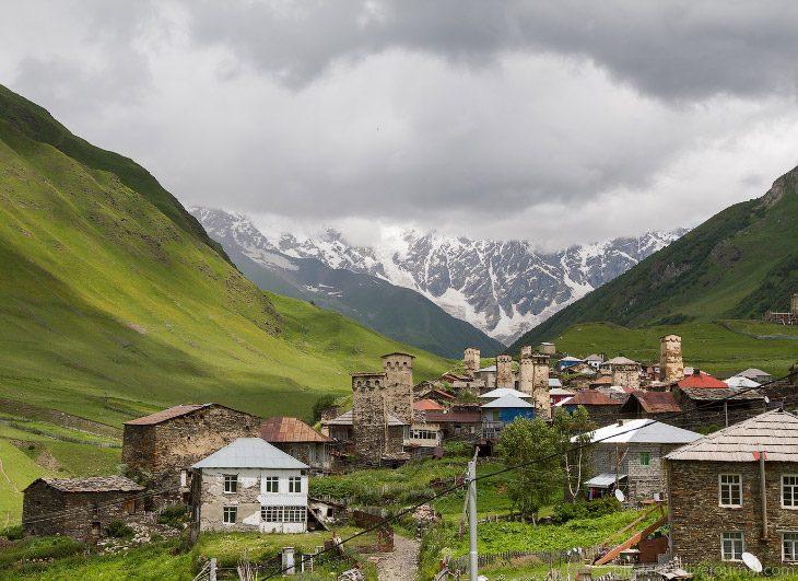 Атмосферное путешествие по одной из самых красивых стран в мире