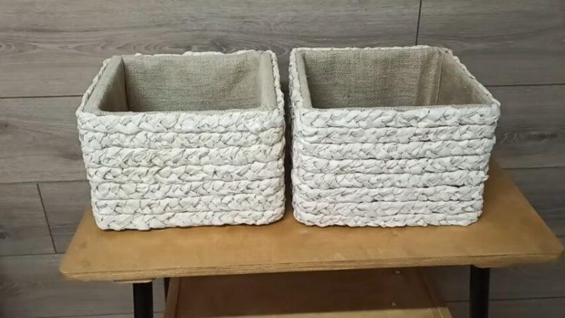 Как полки-этажерки превратить в дизайнерскую мебель можно, прикрепить, забудьте, стенки, украсьте, пропитать, бумагу, красивый, получился, корзинокЧтобы, наружные, многих, крепким, косичкуЭтой, сплетите, вместе, закрепите, скомкайте, слегка, полосы