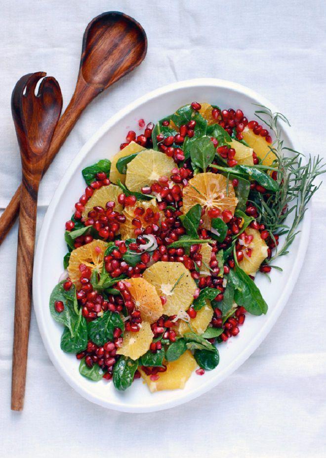 36 аппетитных и полезных зимних салатов