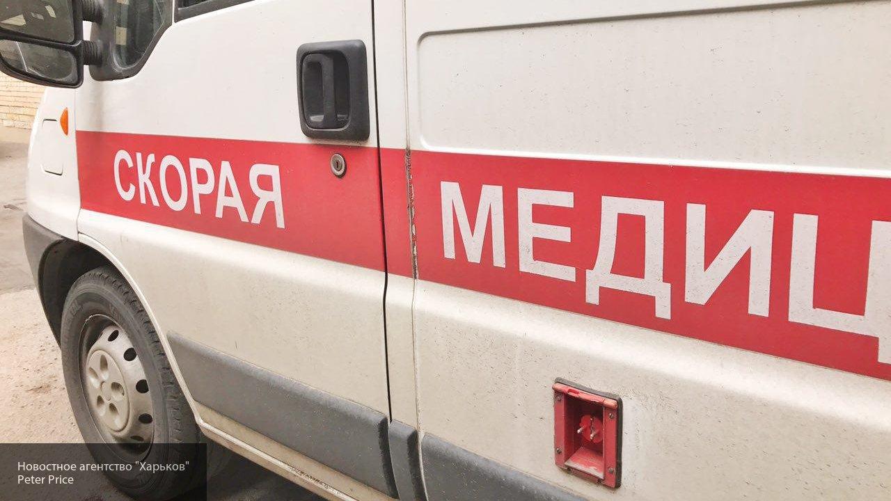 В Екатеринбурге байкер на полном ходу протаранил легковушку