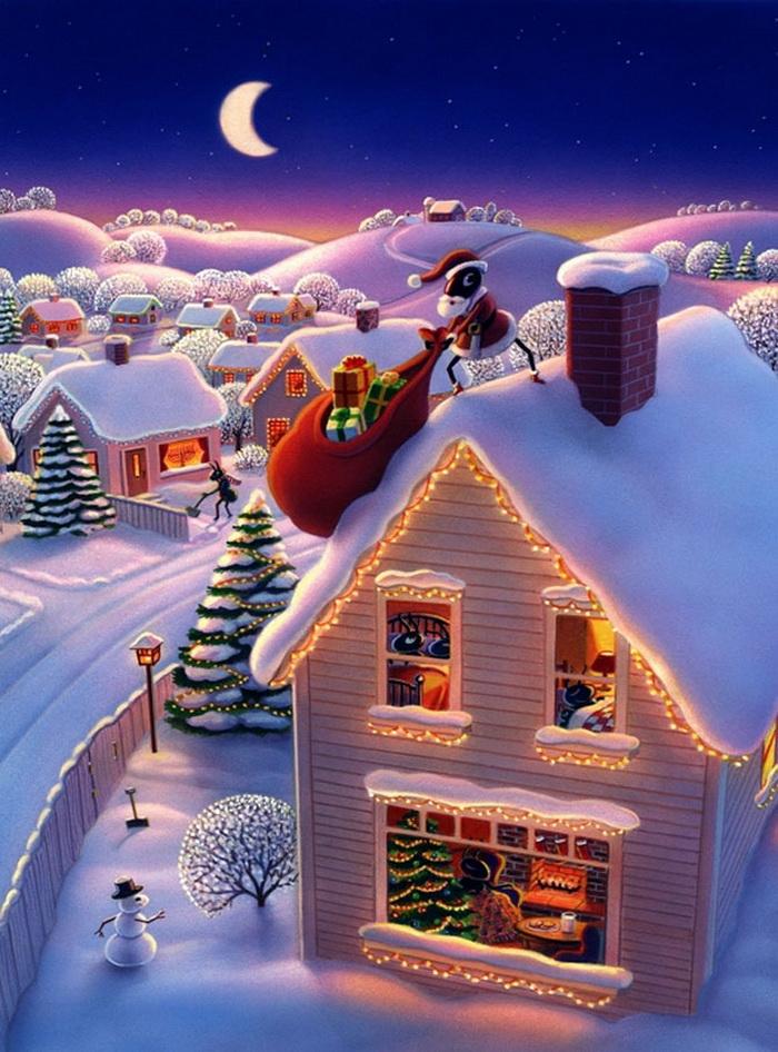 ворота, зима рождество картинки на телефон найдите