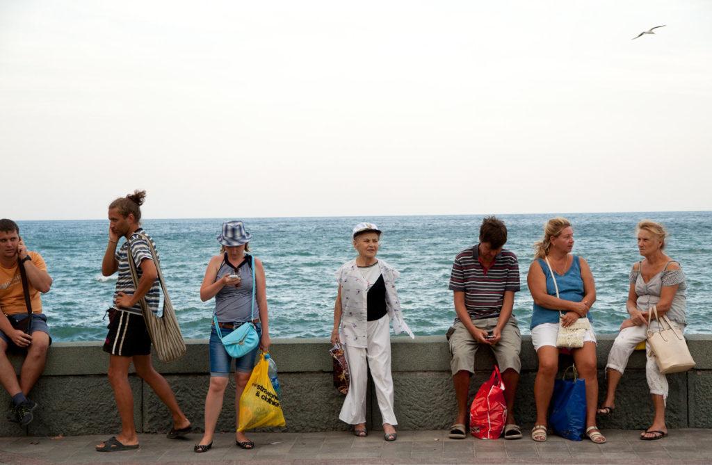 Украинские туристы полюбили Россию