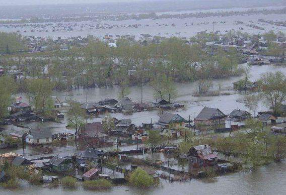 Из-за наводнений в Центральн…